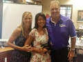 Ashley Lock (Lax - Kennesaw State) with John & Susie Trautwein