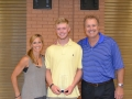 Jack Ryan (Baseball - UGA) with John & Susie Trautwein