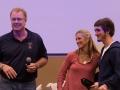Ben Fleck (Lax - GCSU) with John & Susie Trautwein