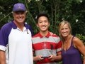 Seong Su Kim (Basketball - West Point) with John & Susie Trautwein